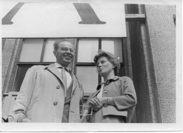 1957 Lem and his wife