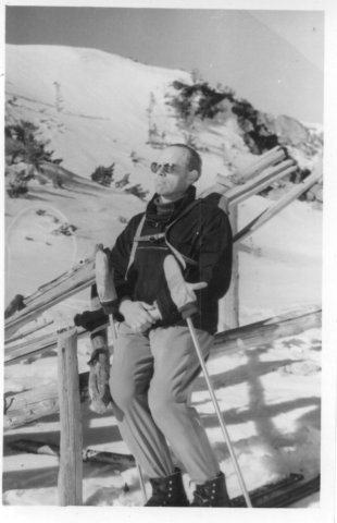 1959 skiing in Zakopane