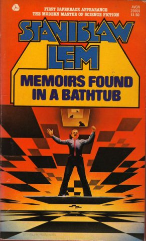 Memoirs Found in a Bathtub English Avon 1976